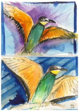 Vögel am Geiseltalsee